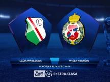 Legia Warszawa 1:1 Wisła Kraków