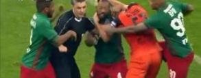 Piłkarze nie wytrzymali w finale Pucharu Rosji! Cztery czerwone kartki!