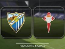 Malaga CF 3:0 Celta Vigo