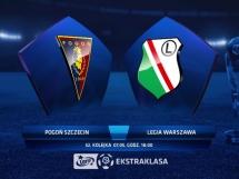 Pogoń Szczecin 0:2 Legia Warszawa