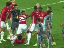 Awantura w meczu Manchester - Celta! Dwie czerwone kartki!