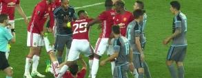 Dwie czerwone kartki! Sprzeczka w meczu United - Celta!