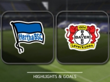 Hertha Berlin 2:6 Bayer Leverkusen