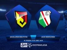 Jagiellonia Białystok 0:0 Legia Warszawa