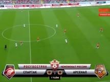Arsenal Tula 3:0 Spartak Moskwa