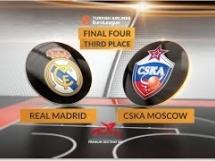 Real Madryt 70:94 CSKA Moskwa