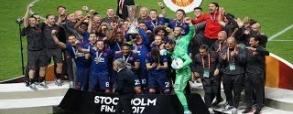 Manchester United świętuje zdobycie Ligi Europy!
