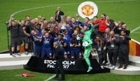 Manchester United świętuje zdobycie Ligi Europy! [Wideo]