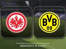 Eintracht Frankfurt 1:2 Borussia Dortmund