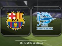 FC Barcelona 3:1 Deportivo Alaves