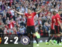 Manchester United 2:2 Michael Carrick All-Stars