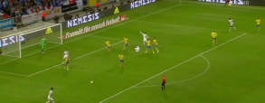 Fantastyczna bramka Gioruda w meczu ze Szwecją