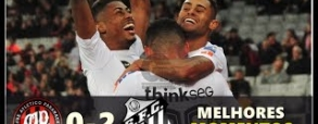 Atletico Paranaense 0:2 Santos