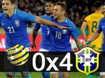 Australia 0:4 Brazylia