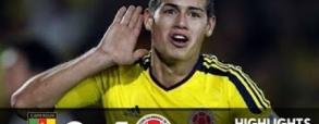 Kamerun 0:4 Kolumbia