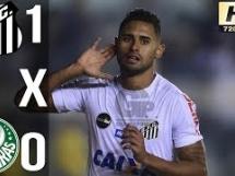 Santos 1:0 Palmeiras