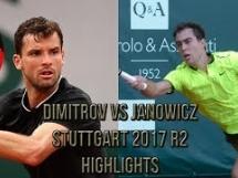 Jerzy Janowicz 2:0 Grigor Dimitrow