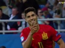 Hiszpania U21 5:0 Macedonia U21