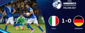 Włochy U21 1:0 Niemcy U21
