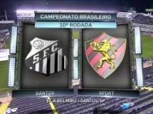 Santos 0:1 Sport Recife
