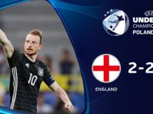 Anglia U21 2:2 Niemcy U21