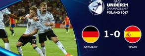 Niemcy U21 1:0 Hiszpania U21