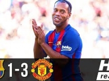 Legendy FC Barcelony 1:3 Legendy Manchesteru United