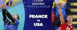Francja 3:2 USA