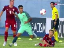 Czechy U19 1:2 Portugalia U19