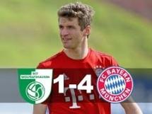 BCF Wolfratshausen 1:4 Bayern Monachium