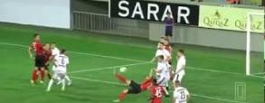 FK Qabala 1:1 Jagiellonia Białystok