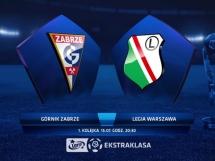 Górnik Zabrze 3:1 Legia Warszawa