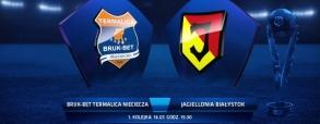 Termalica Bruk-Bet Nieciecza 0:1 Jagiellonia Białystok
