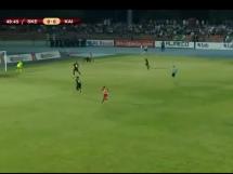 Skenderbeu Korcza 2:0 Kajrat Almaty