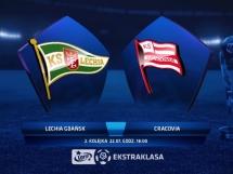 Lechia Gdańsk 0:1 Cracovia Kraków