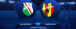 Legia Warszawa 1:1 Korona Kielce