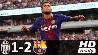 Wspaniały mecz Neymara! Barcelona pokonała Juve! [Wideo]