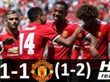Real Madryt 1:1 Manchester United
