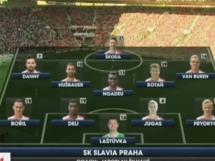 Slavia Praga 1:0 BATE Borysów