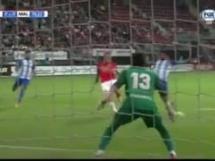 AZ Alkmaar 3:0 Malaga CF