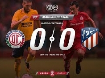 Toluca 0:0 Atletico Madryt