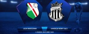 Legia Warszawa 2:0 Sandecja Nowy Sącz