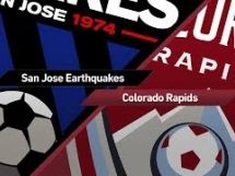 San Jose Earthquakes 1:0 Colorado Rapids