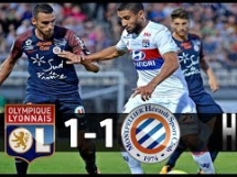 Olympique Lyon 1:1 Montpellier