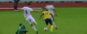 Fatalny błąd Drągowskiego w meczu z Eintrachtem Brunszwik!