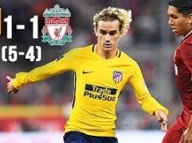 Atletico Madryt 1:1 Liverpool