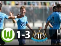 VfL Wolfsburg 1:3 Newcastle United