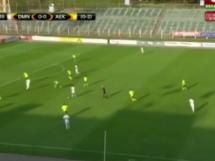 Dynamo Mińsk 1:1 AEK Larnaka