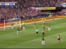 Feyenoord 1:1 Vitesse