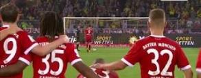 Rzuty karne z meczu o Superpuchar Niemiec!